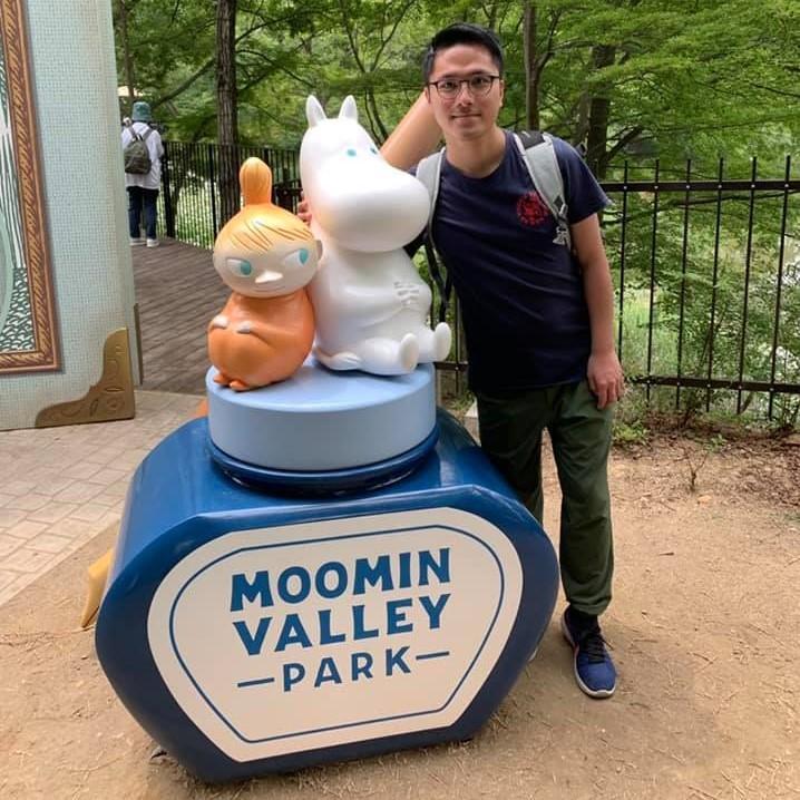 精選交友約會文章: Winson 日本東京之旅:  Moomin Valley Park 遇見姆明、阿美及酷酷的史迪奇